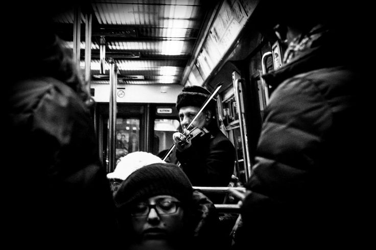 Fiddler on the Metro by Felipe Contreras on 500px