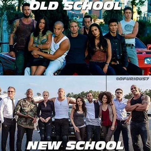 OLD SGHOOL or NEW SCHOOL?