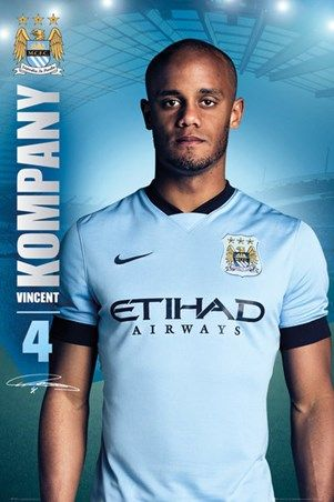 Vincent Kompany - Manchester City Football Club