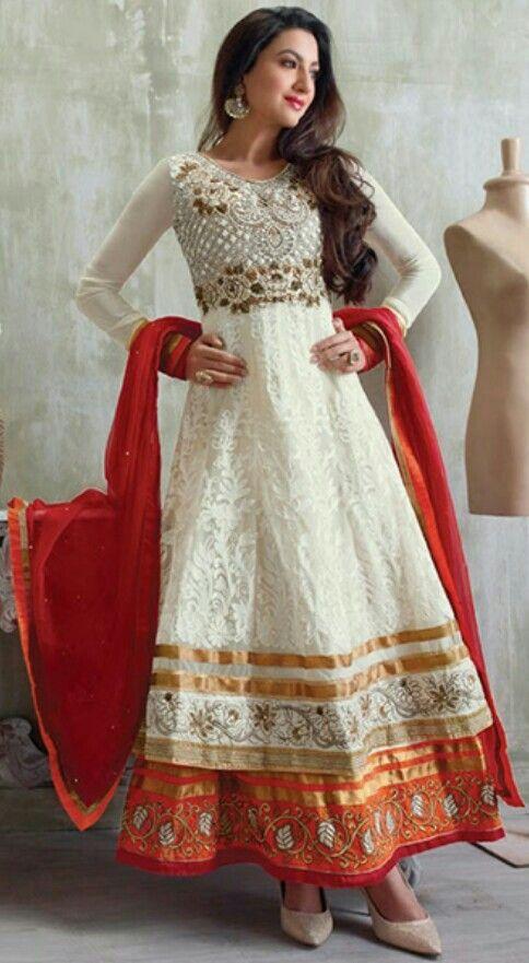 Gauhar Khan salwar suit