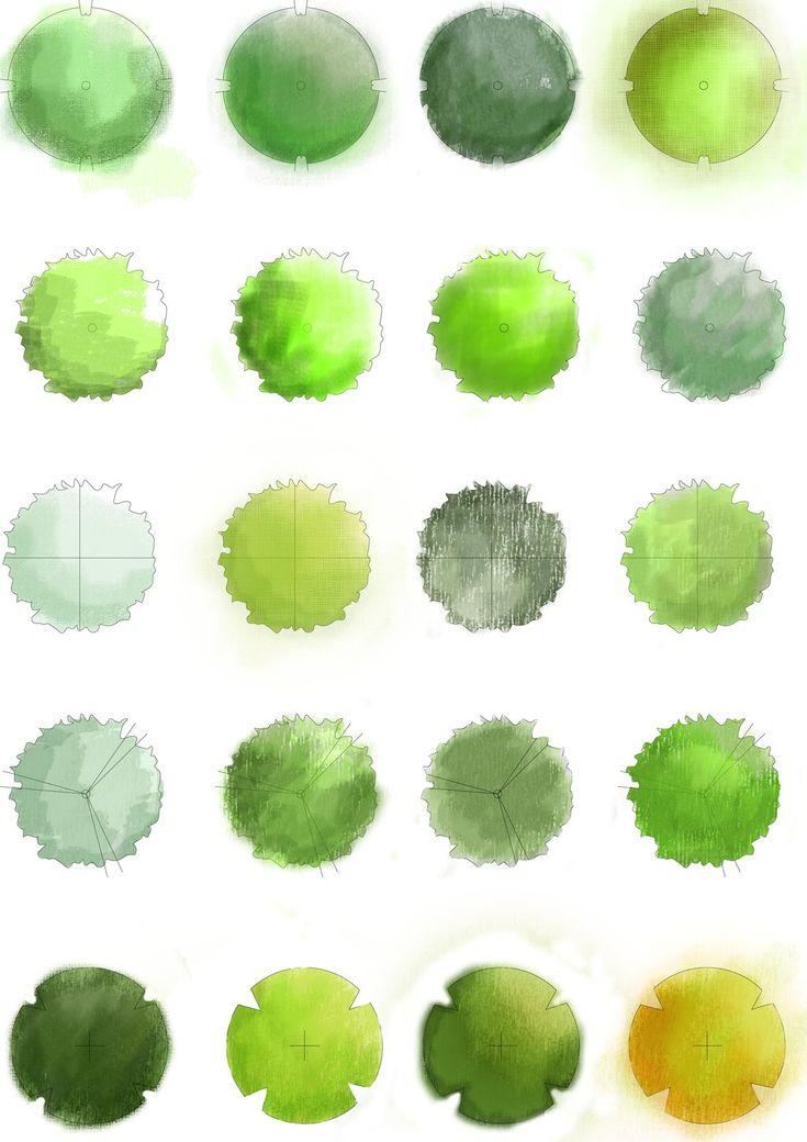Landscape Trees - Plan by ~BoomyRui on deviantART