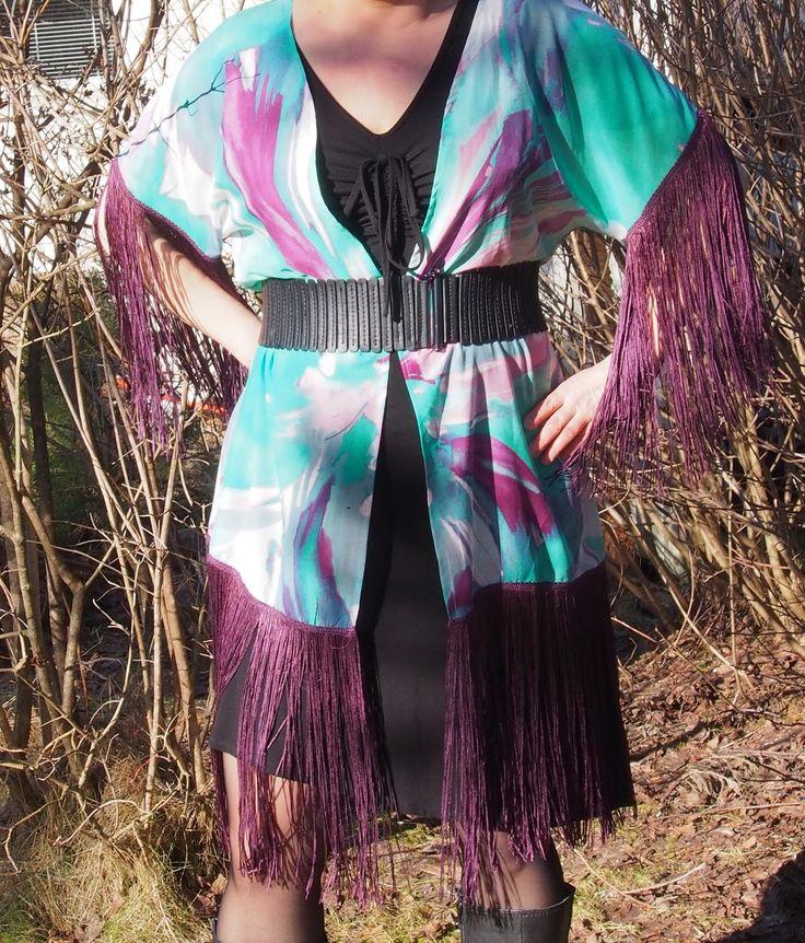 Vaateviidakko: Kimonojakku hapsuilla