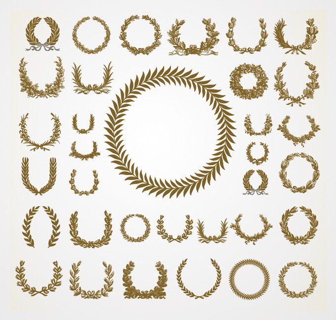 Images about laurel leaf design on pinterest - Laurel Wreath On Pinterest Wreath Tattoo Laurel Tattoo And Laurel