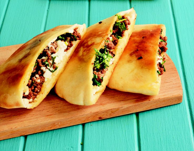 Spiced lamb pitas - HomeChoice Cookbook Volume I. Find the recipe here: http://hometalk.homechoice.co.za/content/spiced-lamb-pitas