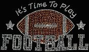 Time to Play Football Transfer by JMSportwear on Etsy