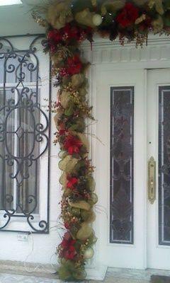 guirnalda puerta