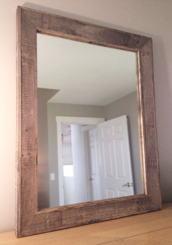 reclaimed wood mirror by wileyjames on etsy guest 20112