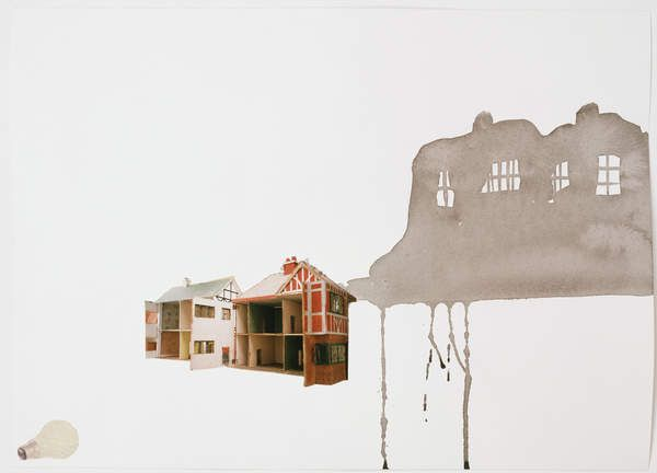 Rachel Whiteread, Study for Village, 2004