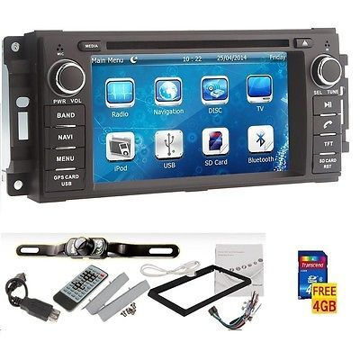 "6.2"" Car GPS DVD Player Navigation HOT Jeep Wrangler Unlimited 2007-2010+Camera in eBay Motors,Parts & Accessories,Car & Truck Parts 