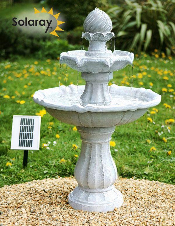 Die besten 25+ Solarbrunnen garten Ideen auf Pinterest rope - gartenbrunnen selber bauen bauanleitung