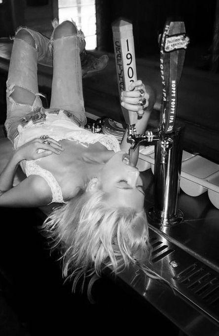✔ Drink from the tap ~ Hen Night Bucket List. #hen #party #idea