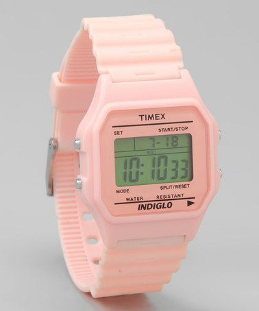 Pink Retro 80 Digital Watch by Timex on #zulily today!