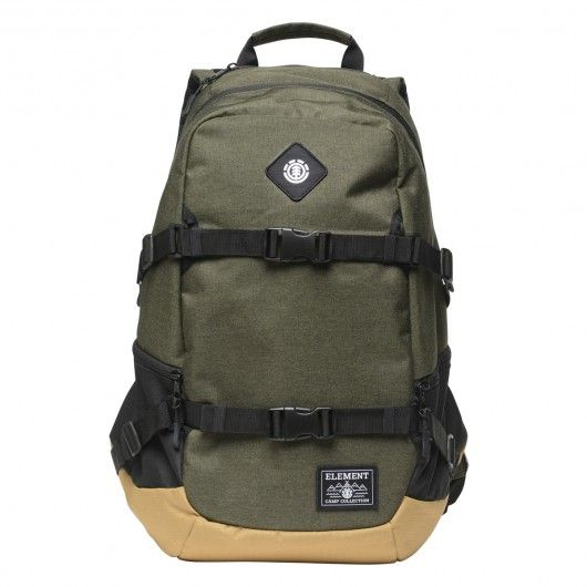 ELEMENT Jaywalker Backpack sac à dos moss heather sangles de transport skate 75,00 € #skate #skateboard #skateboarding #streetshop #skateshop @playskateshop