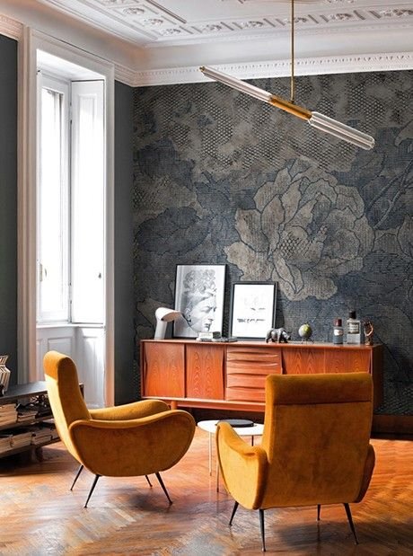 Brocart wall coverings wallpapers from walldecò