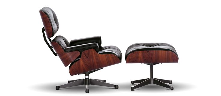 Lounge Chair and Ottoman; Charles & Ray Eames