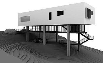 Em terreno de acentuado declive, casa na Serra da Cantareira, SP, tem piscina no piso superior. De Leonardo Shieh | aU - Arquitetura e Urbanismo