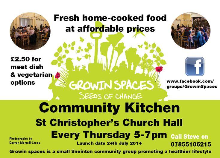 Growin' Spaces cafe launch - Sneinton Alchemy