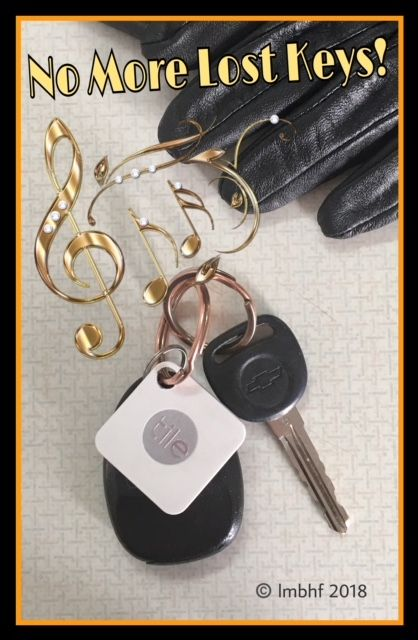 Never Lose Your Keys Again, Tile Mate - Lost Key Finder. It will help you find your lost keys, lost phone or lost anything!