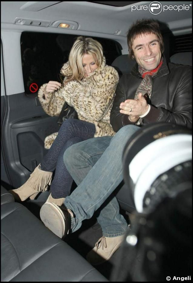 Liam Gallagher Nicole Appleton | Liam Gallagher et Nicole Appleton