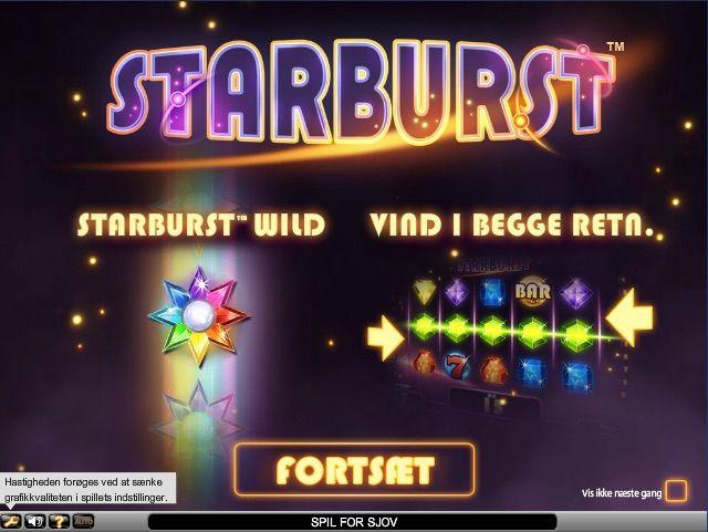 Starburst spilleautomat http://www.casinodk.net/starburst-spilleautomat/