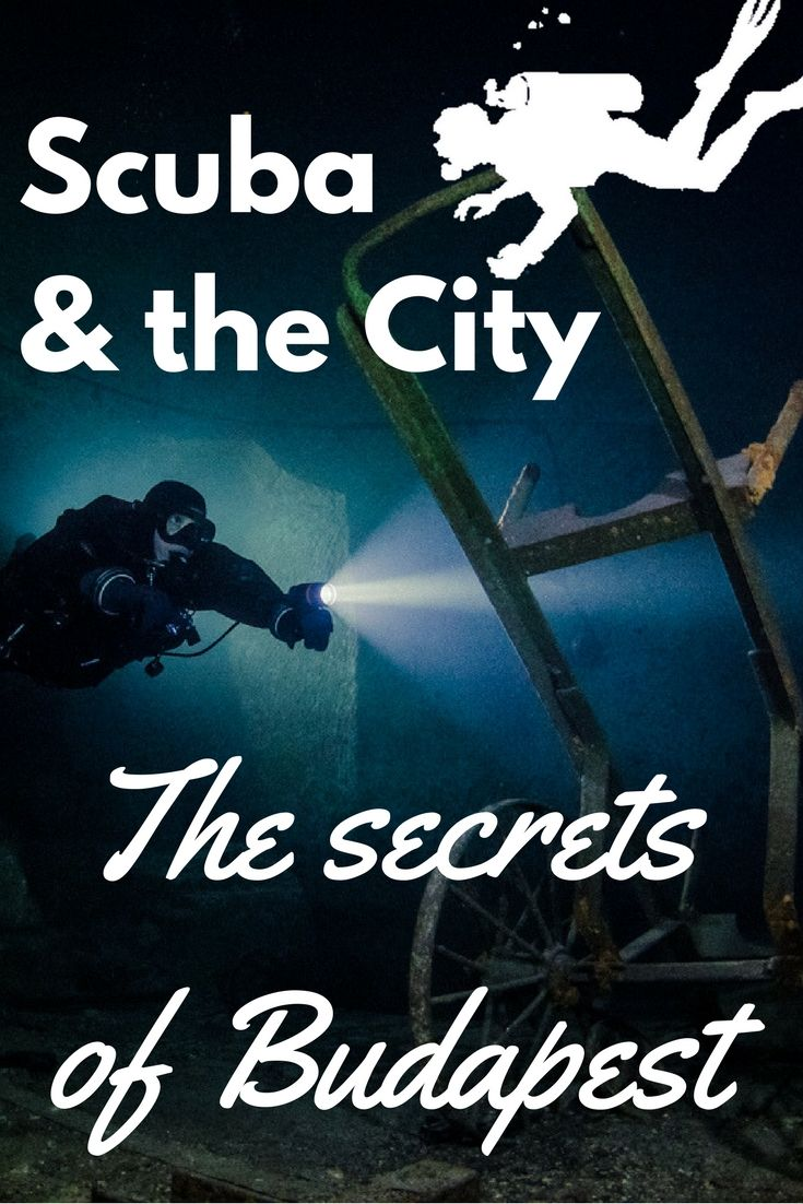 Did you know you could dive in Budapest? SCUBA & THE CITY: THE SECRETS OF BUDAPEST, HUNGARY - World Adventure Divers Scuba diving - Travel – Hungary – Read more on https://worldadventuredivers.com/2016/04/06/scuba-diving-secrets-budapest-hungary/