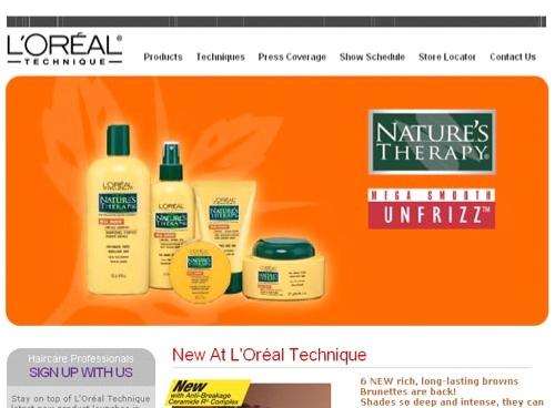 L'Oreal Technique.com