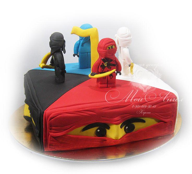 """Cake """"Lego Ninjago"""". Торт """"Лего Ниньяго""""."""