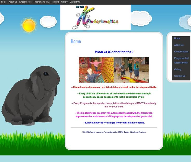 Du Toit Kinderkinetics  - Website Designed & Maintained by HB WEB