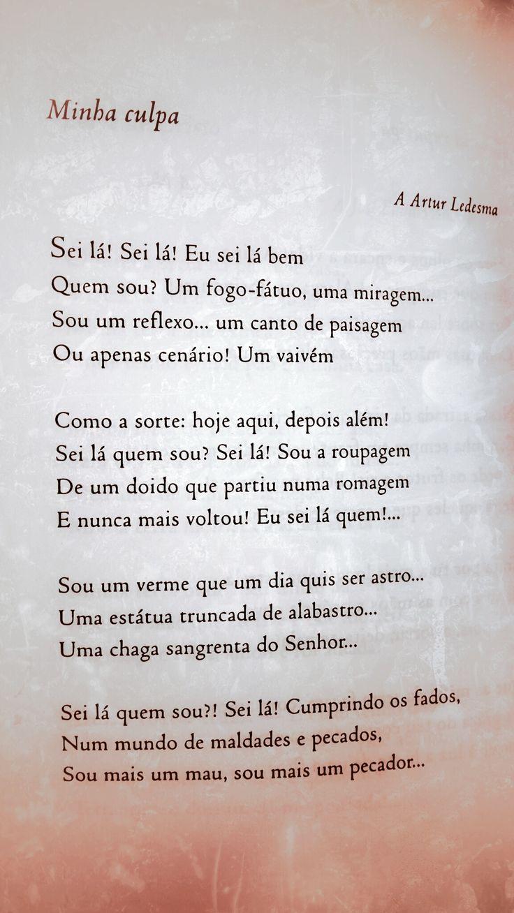 Minha Culpa - Florbela Espanca