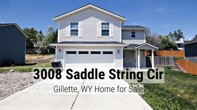 Like a turnkey home? Updates a plus? Check out this cozy two story home at 3008 Saddle String Cir in Gillette, WY.