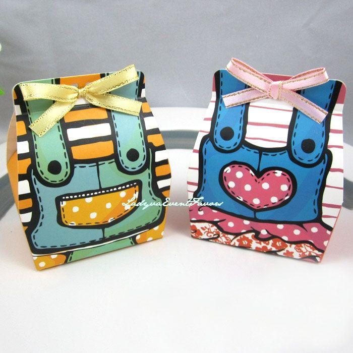 Twin Baby favor box
