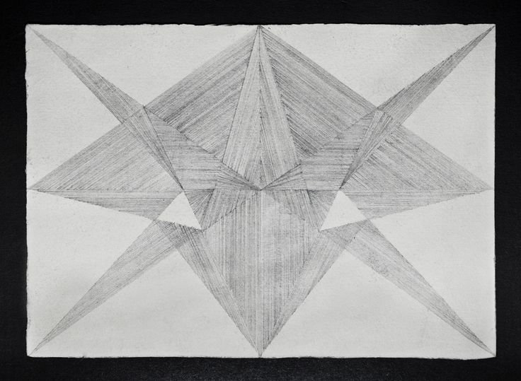 Michaela Vrbková / drawings Inlays, 2013