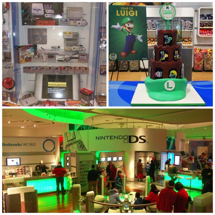 Nintendo World Store in New York City | 19 Places That Will Make Your Kid's Dreams Come True