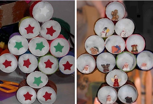 """Day 7 ~ Paper Problems ~ """"My Christmas Elf"""" ~ Paper Roll Craft 