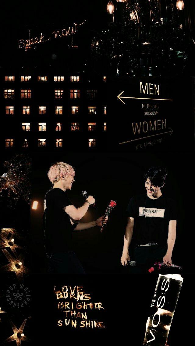 Sebaek Lockscreen Exo Exol Wallpaper วอลเปเปอร