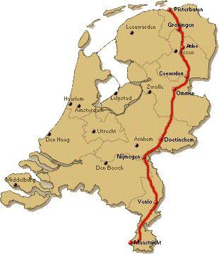 Pieterpad; 464 km van Pieterburen naar Pietersberg