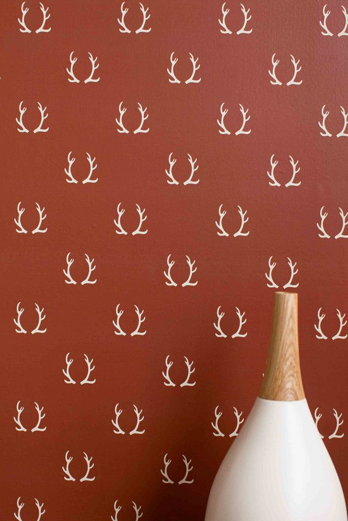 Antlers. Temporary WallpaperRemovable WallWallpaper IdeasWallpaper  ForAntlersDorm RoomFamily ... Part 65