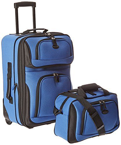 New Trending Luggage: U.S Traveler Rio Carry-On Lightweight Expandable Rolling Luggage Suitcase Set - Royal Blue (15-Inch And 21-Inch). U.S Traveler Rio Carry-On Lightweight Expandable Rolling Luggage Suitcase Set – Royal Blue (15-Inch And 21-Inch)  Special Offer: $39.99  411 Reviews Go anywhere with the Traveler's Choice U.S. Traveler Rio Two Piece Expandable Carry-On Luggage Se. This luggage set is made...