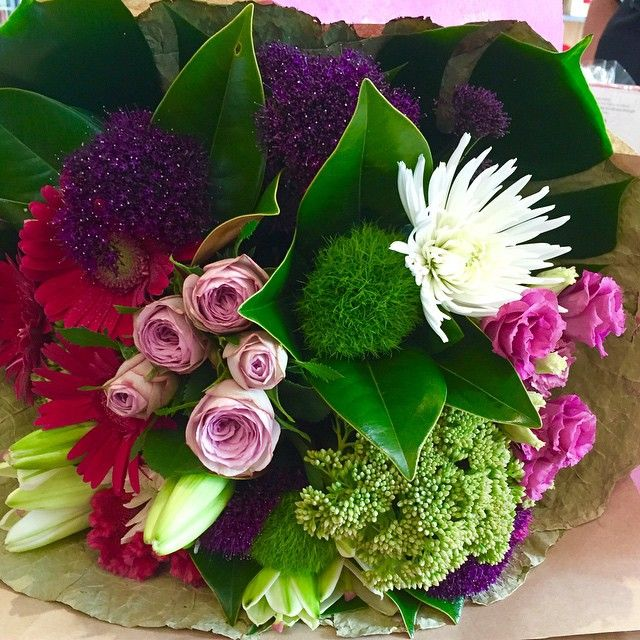 Beautiful Blooms, love the colours of Nature! designed by Twigs Florist Varsity Lakes