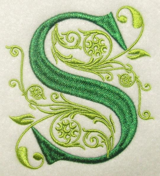 Regal Embroidery Fonts | Apex Embroidery Designs, Monogram Fonts & Alphabets