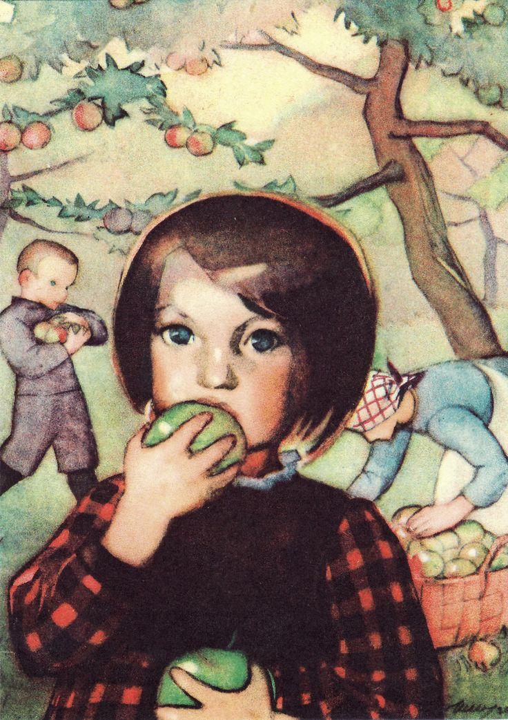 Martta Wendelin (1893-1986), a Finnish artist and illustrator