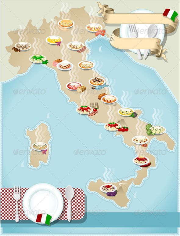 27 best italy pasta map images on pinterest noodles - Regional italian cuisine ...