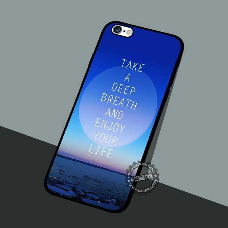 Take A Deep Breath - iPhone 7 6 5 SE Cases & Covers #quote #iphonecase #phonecase #phonecover #iphone7case #iphone7 #iphone6case #iphone6 #iphone5 #iphone5case #iphone4 #iphone4case