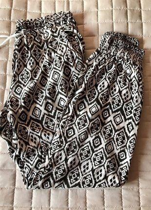 Kup mój przedmiot na #vintedpl http://www.vinted.pl/damska-odziez/chinosy/17322334-zwiewne-materialowe-spodnie-w-rozmiarze-l