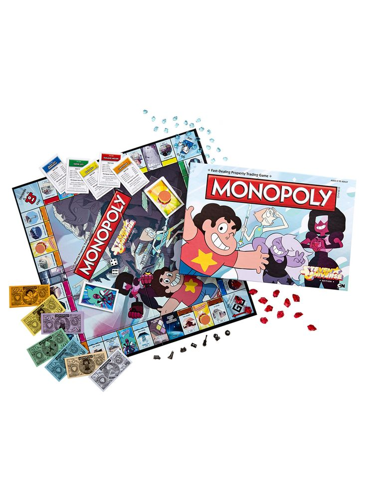 A gem of a game // Steven Universe Hot Topic Exclusive Monopoly