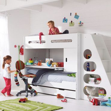 16 best images about lits superpos s on pinterest places bunk bed and baseball themed bedrooms
