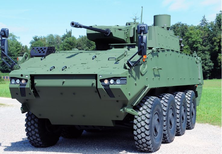 Piranha 5 armoured personnel carrier Denmark