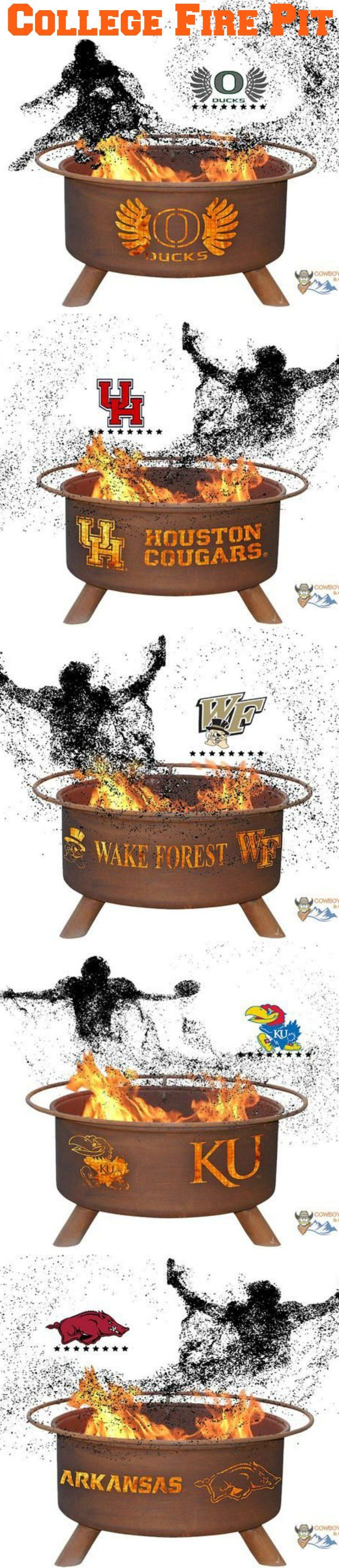 Fire Pit Show Your Pride and Entertain your Friends with the Wake Forest University Fire Pit! – College Fire Pit