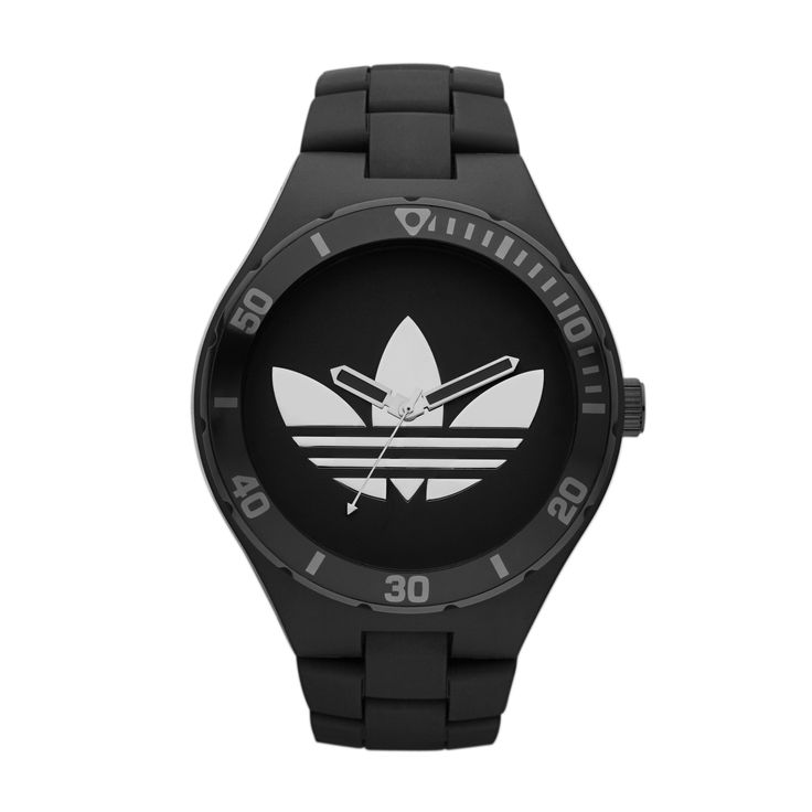 Ideal for the devoted athlete, this adidas watch comes with comprehensive features that provide the wearer with the necessary tools to meet their personal training goals. The resin band and solid push button clasp ensure that the watch stays securely fastened to your wrist during any activity. This watch is the perfect gadget for those on the go.  R1499.00  http://www.watchrepublic.co.za/brand/adidas/men/adidas-melbourne-watch