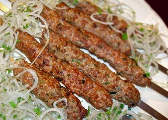 kebab, meat, grill